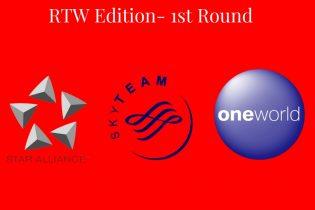 Battle of the Airline Alliances- Round the World Edition- 1st Round- #rtwtravel #skyteam #traveloneworld #staralliance