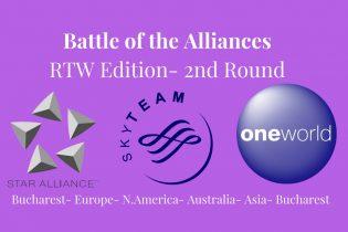 Battle of the Airline Alliances- Round the World Edition- 2nd Round- #rtwtravel #skyteam #traveloneworld #staralliance